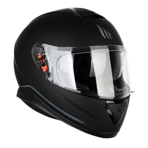 MT 헬멧 THUNDER 3 SV MATT BLACK 썬더3 풀페이스 무광블랙